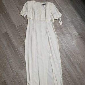 Vintage Be Smart cream dress/ with tags